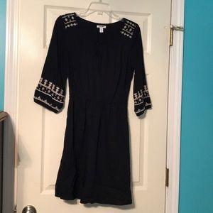 Black Old Navy Long Sleeve dress